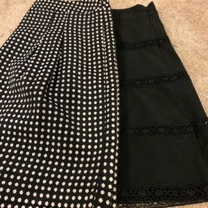 Bundle of 2 the limited skirts size 10
